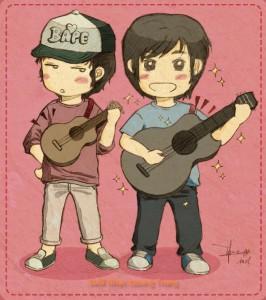 khác nhau giữa ukulele và guitar