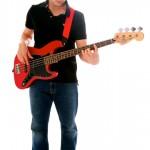 Tư thế chơi Guitar Bass