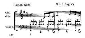 Điệu boston rock vu vo
