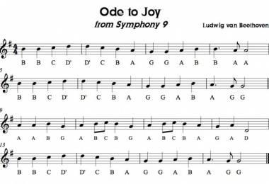 Bản giao hưởng số 9 của Betthoven