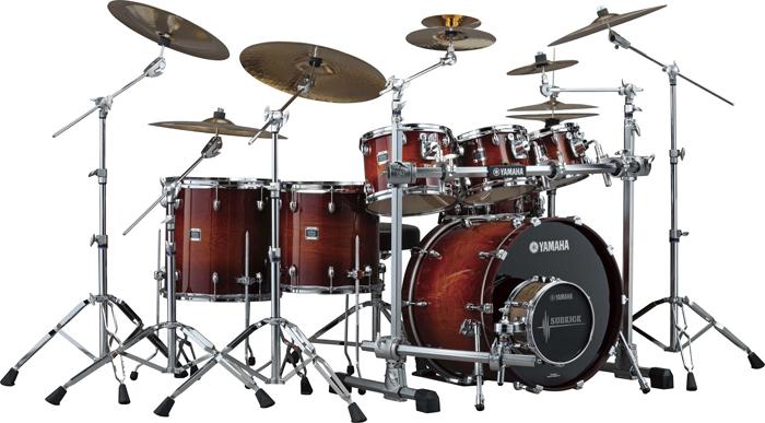 OAK-Custom-Amber-Sunburst-drum-set