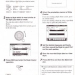 Cách làm style trên đàn organ PSR-S550, Phần 2